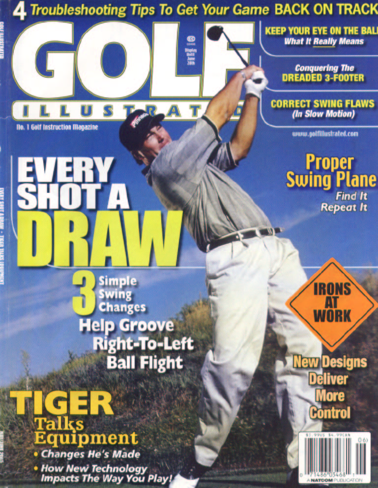 GOLF ILLUSTRATED MAGAZINE Cover Article